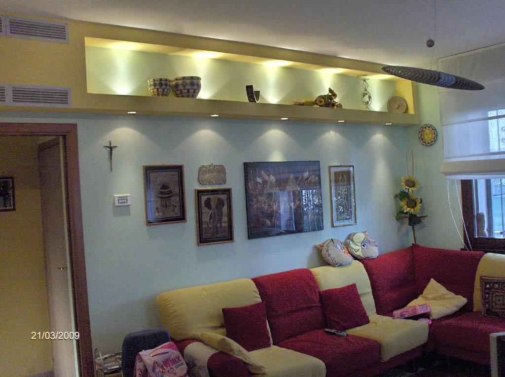 Soggiorno con faretti ~ idee di design nella vostra casa